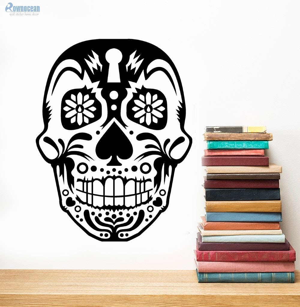 Compare Prices On Skull Wallpaper Mural Online Shopping Buy Low