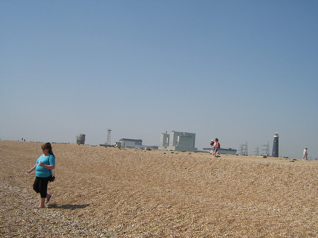 Dungeness beach and power station