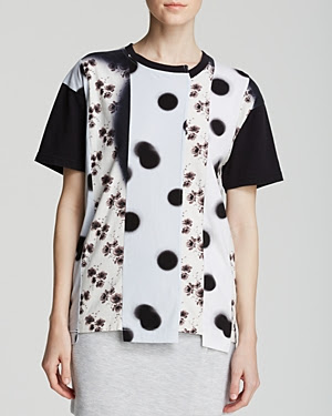Marc By Marc Jacobs Jordyn Surplus Patchwork Tee
