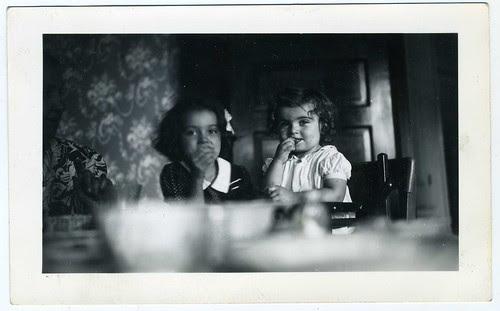 Snapshot: Two Young Girls (And Half A Grandma)