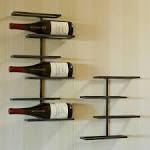 Fine Metal Wall Mounted Wine Racks Design For Wall Decor Ideas ...