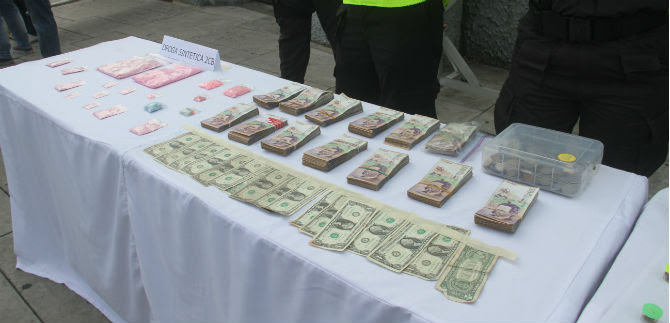 Capturados integrantes de banda Los Sintéticos, distribuidora de drogas
