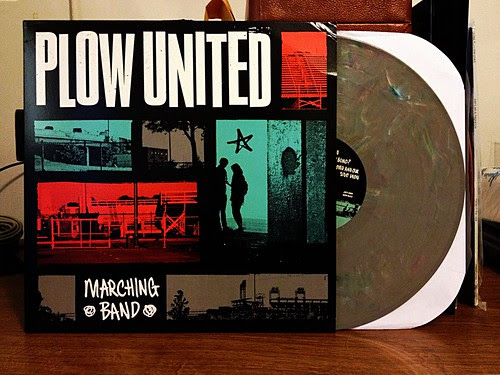 Plow United - Marching Band LP - Mixed Color Vinyl (/100) by Tim PopKid