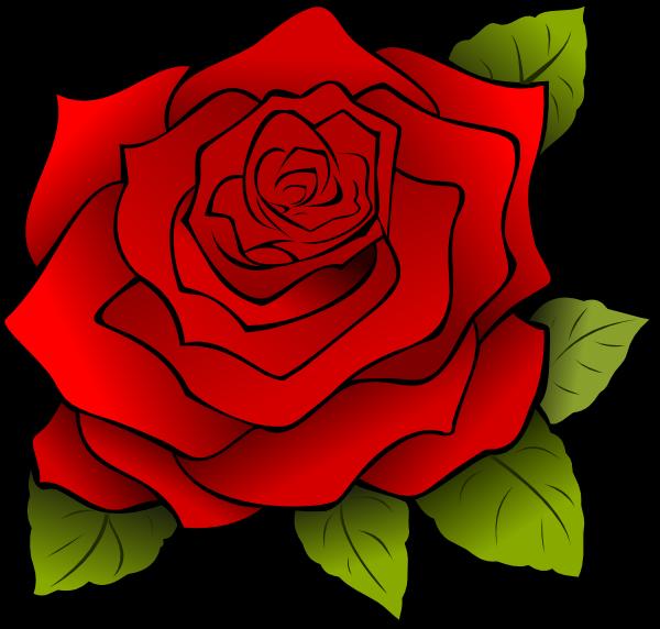 Image result for rose clip art free