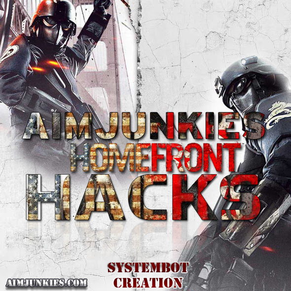 Homefront hacks cheats and aimbots flyer $10.95 a month