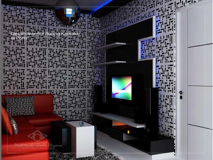 Interior ruang karaoke minimalis  Interior Design