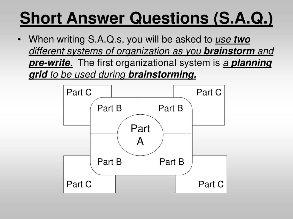PPT - Introduction to Short Answer Questions for ELA STAAR ...