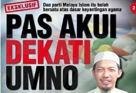 Nik Abduh ingin Pas bersatu dengan Umno?