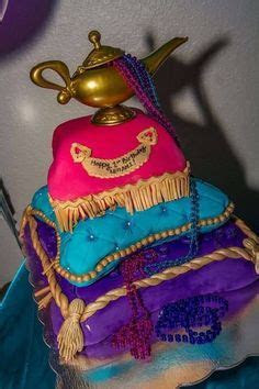 Aladdin. Pattern and lid on the lamp are not quite film