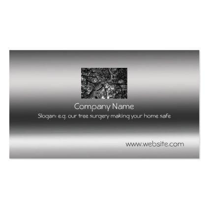 Canadian Pine, Fine Art on metallic-effect Business Cards