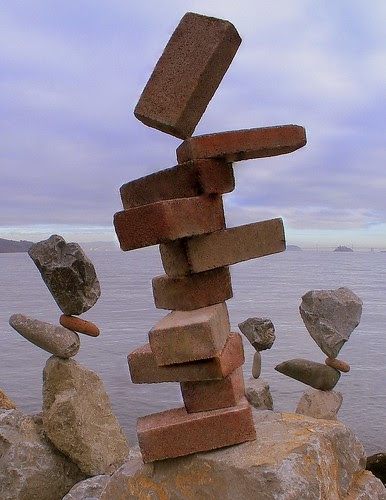 yes . . . balancing bricks . . . by billbalance