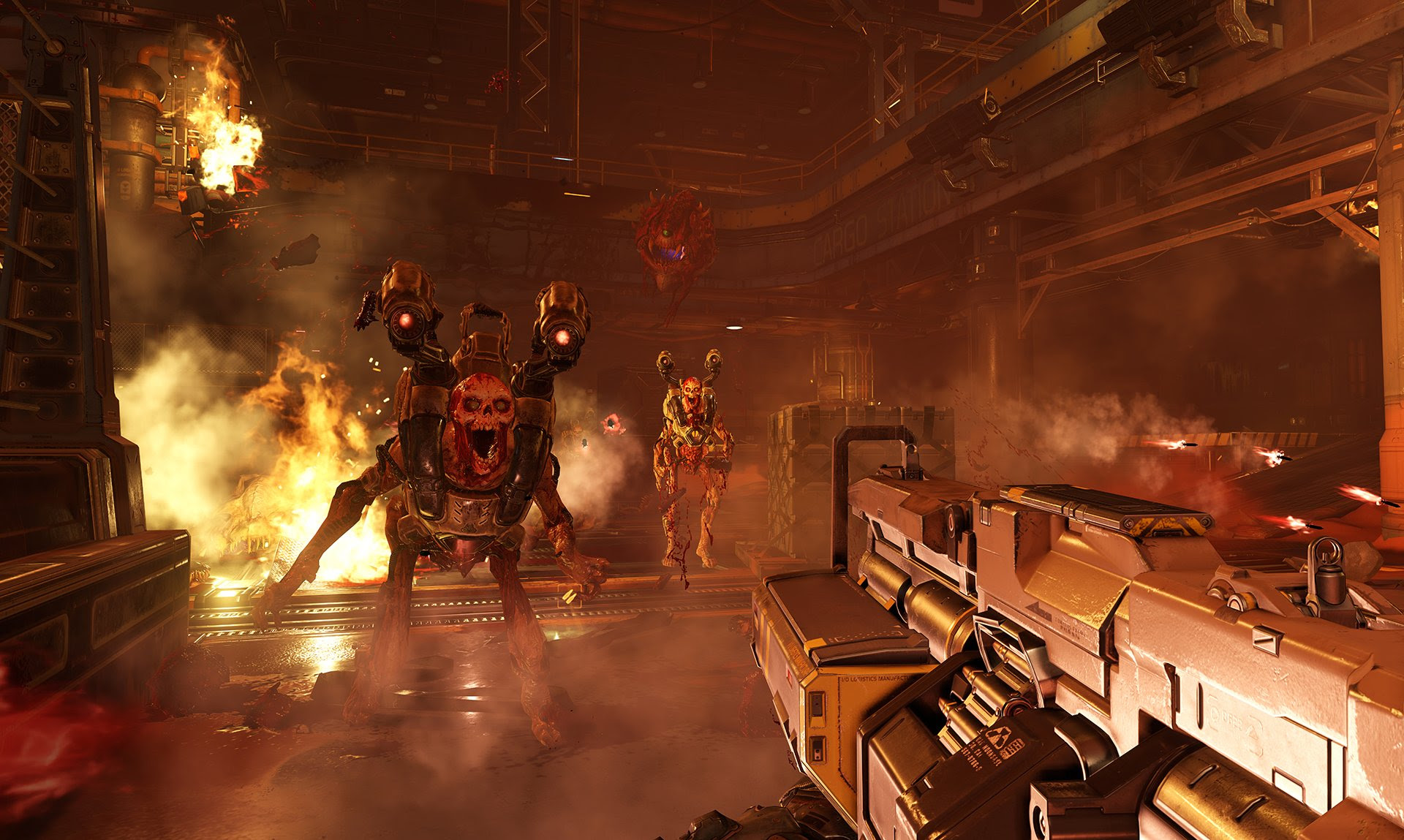 All multiplayer DLC will be free with Doom's 6.66 update screenshot