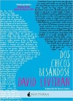 Dos chicos besándose David Levithan