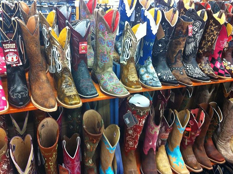 File:Women's cowboy boots.JPG