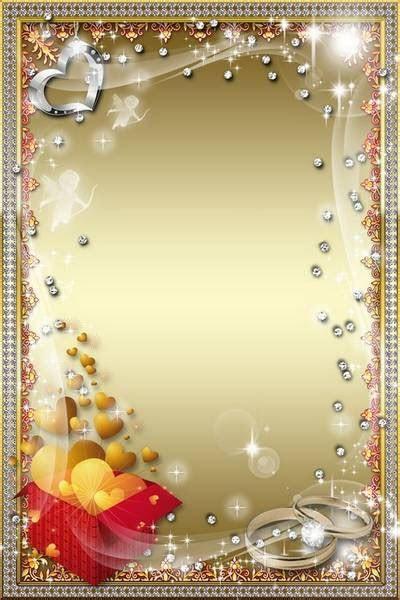 wedding photo frames psd free download wedding wishes
