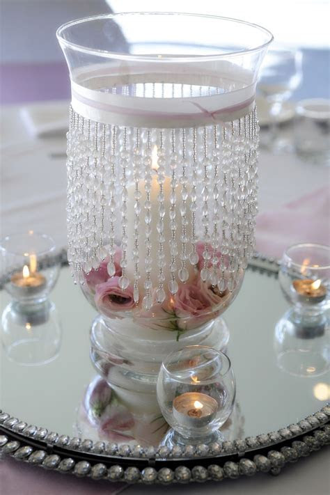hurricane vase   Wedding Centerpieces   Hurricane