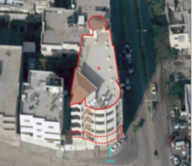 Força Aérea de Israel ataca edifício usado pelo movimento terrorista Hamas