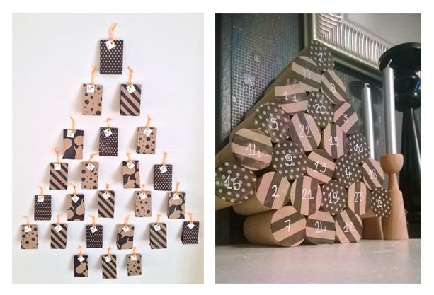 #DIY calendriers de l'avent par vertbaudet http://vbdt.fr/calendrieravent2013 http://vbdt.fr/sapinmagique