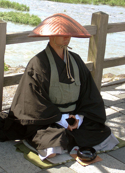 File:Japanese buddhist monk by Arashiyama cut.jpg
