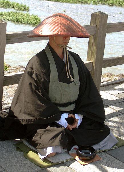 File:Japanese buddhist monk by Arashiyama cut.jpg