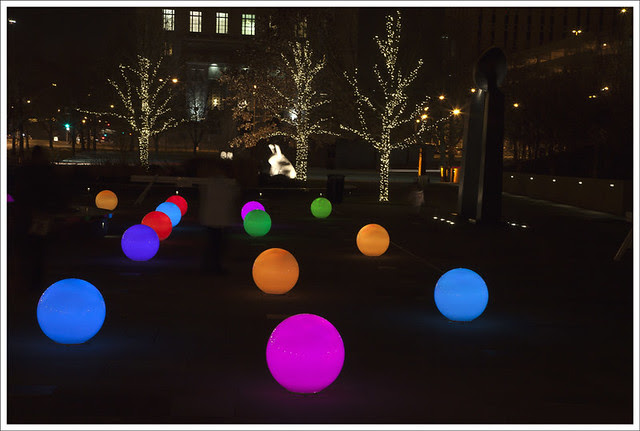 Citygarden Christmas Lights 3