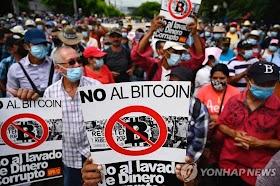 Protests feel the streets of El Salvador