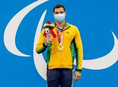 Natação: Gabriel Bandeira conquista 1º ouro do Brasil nos Jogos Paralímpicos