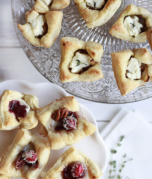 The Yummy Mummy Kitchen Cookbook: Puff Pastry Appetizers