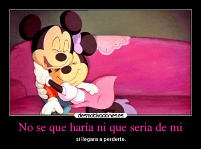 Imágenes De Mickey Mouse Con Frases De Amor Descargar Imágenes Gratis