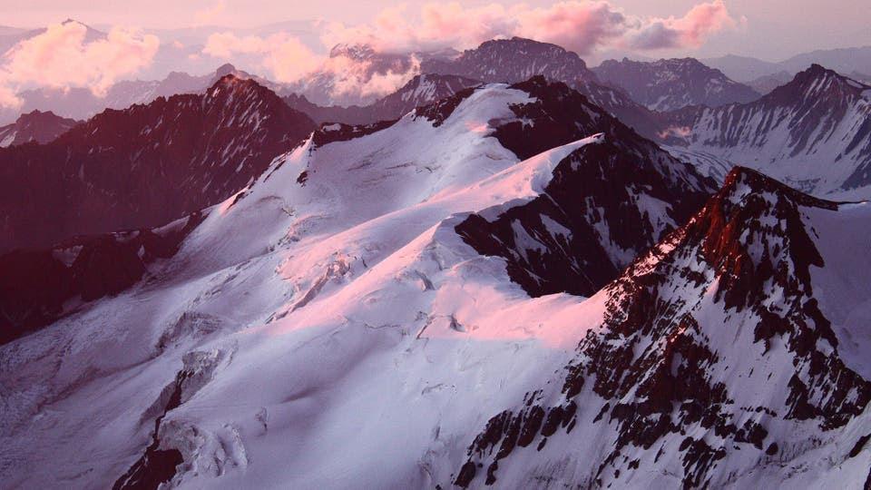 Glaciar Horcones Superior. Mendoza