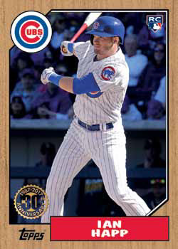 2017 Topps Update Series Baseball 1987 Topps Happ