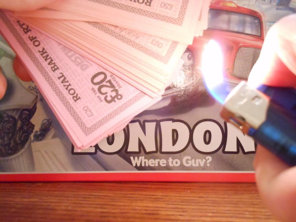 Destination London BURN