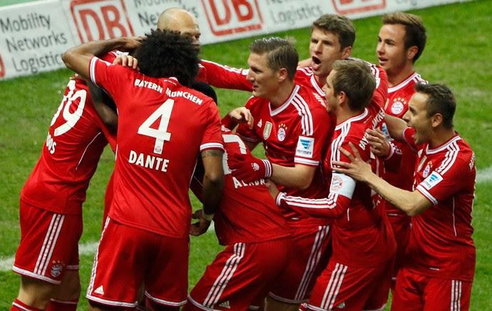 Bayern de Munique x Hertha Berlim (Foto: Reuters)