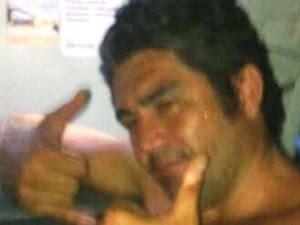 Marcelo, também conhecido como 'Pernão', morreu em Guarujá (Foto: Arquivo Pessoal)