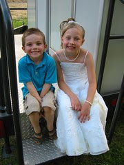Flower Girl and Friend