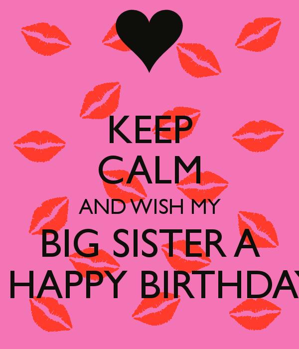 Big Sister Happy Birthday