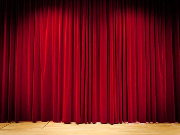 Buy Discount Kate Red Curtain Stage Photo Booth Backdrop For