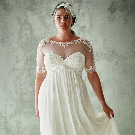 "The Best Place to Snag a Gorgeous ""Plus Size"" Wedding"