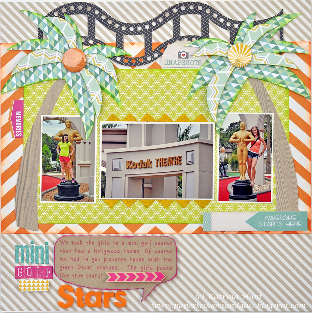 Therm O Web Layout - Mini Golf Stars