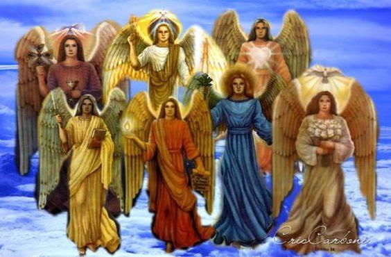 Los 7 Arcángeles Sus Días Y Colores Cupa