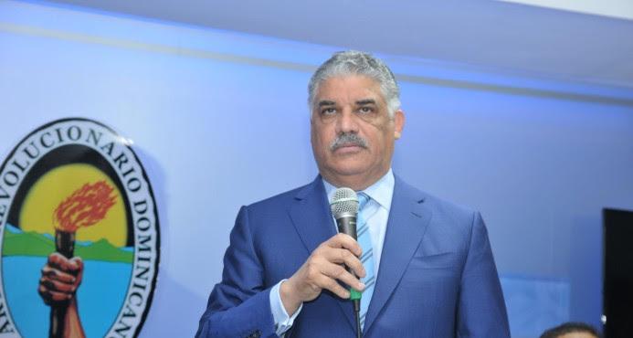 Miguel Vargas admite acuerdos con PLD no incluían Liga Municipal Dominicana