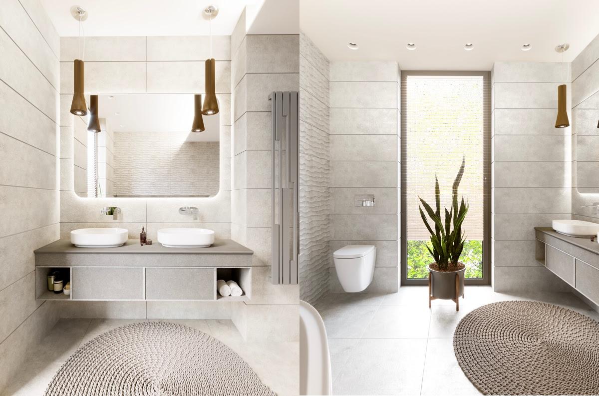 36 Modern Grey White Bathrooms That Relax Mind Body Soul