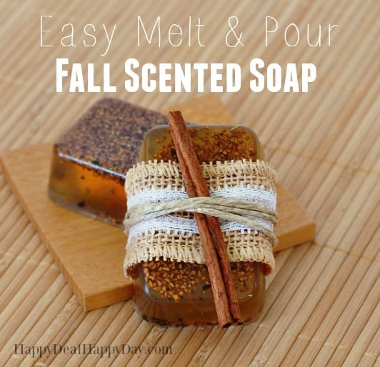 Easy Fall Scented Soap from Happy Deal - Happy Day