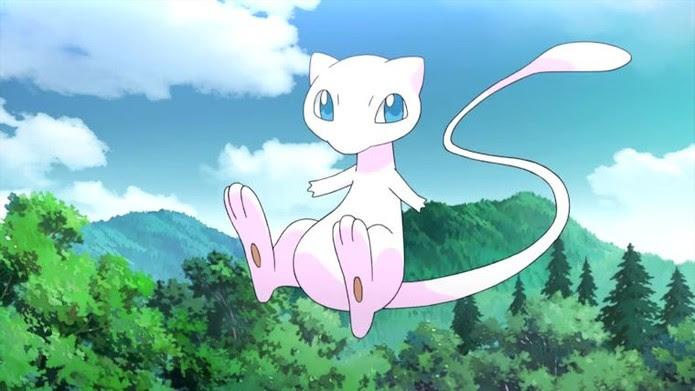 Mew ainda não é capturável em Pokémon Go (Foto: Divulgação/Nintendo)