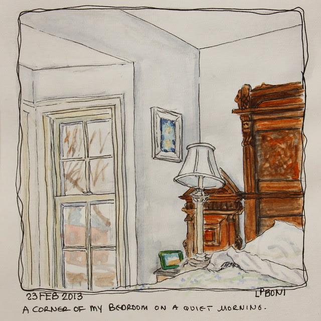 Bedroom - WC Sketch