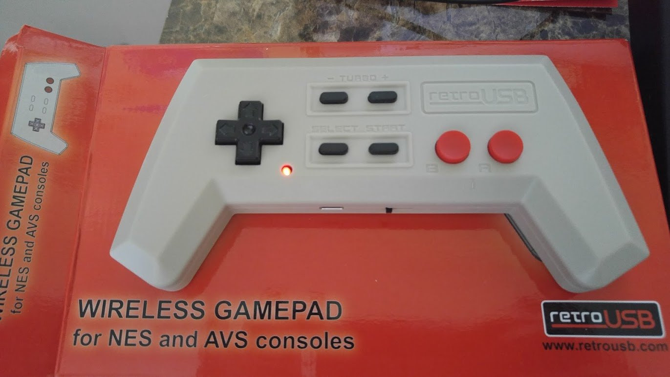 The Retro AVS Wireless NES Gamepad is out and worth a look screenshot