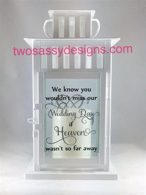Memory Lantern, Wedding Lantern, Memory Table Wedding