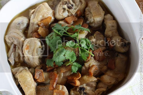 Steamed Chicken With Salted Fish4