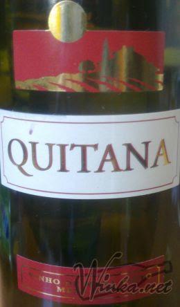 Quitana Czerwone Czerwone Półsłodkie Kulturalne Wino Owocowe