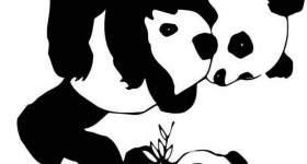 Panda Da Colorare Mondo Bimbo